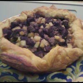 Grandma Foley's Pasty as a Rustic Tart