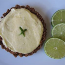 Tequila-lime-tart