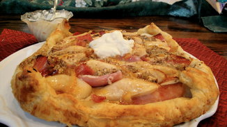Pear_and_ham_galette