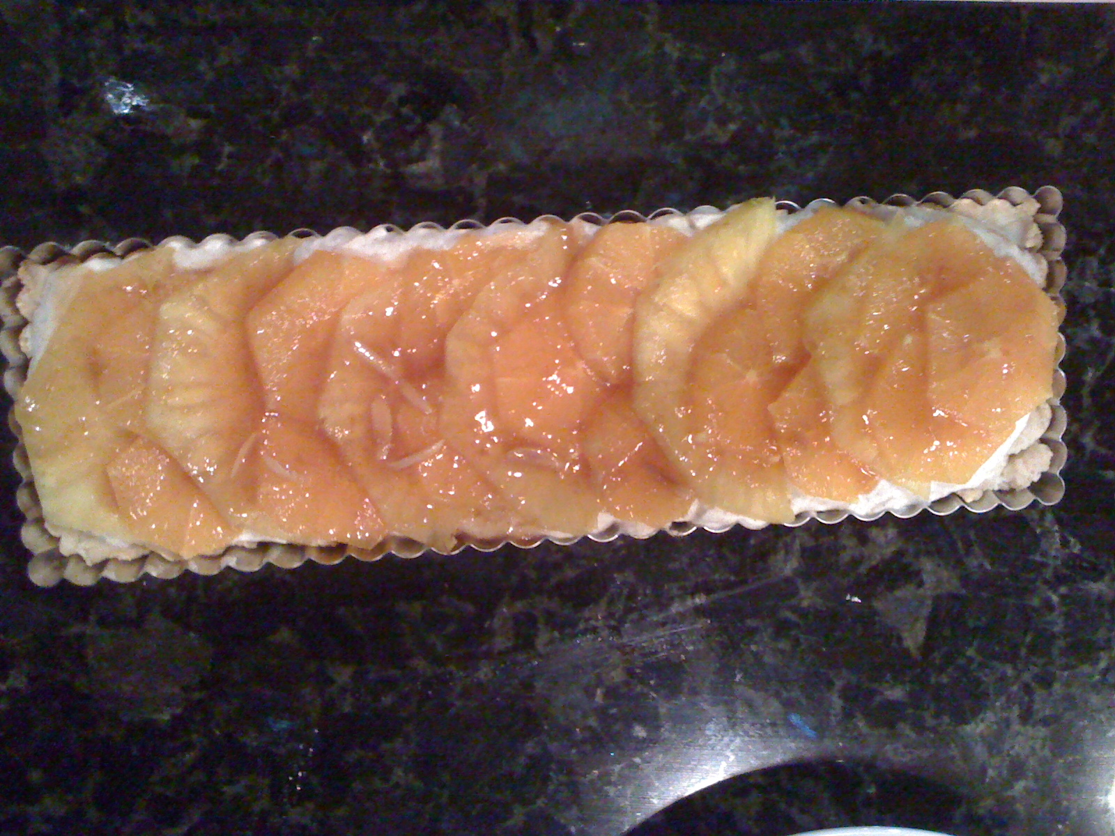 Italian Sweet Cream Citrus Tart