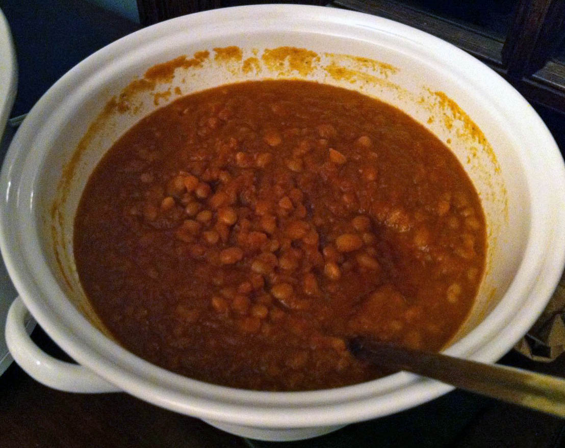 Look Ma, no ketchup! Better-than-canned baked beans.
