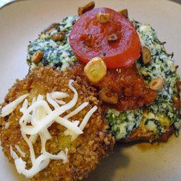 Ricotta & Spinach Stuffed Portobellos