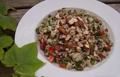 Volcano Rice Tabouli Salad