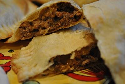 Beef Empanadas with Sofrito Sauce