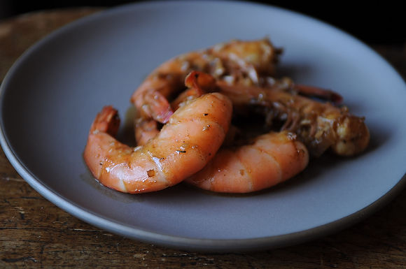 Flamin Cajun Shrimp