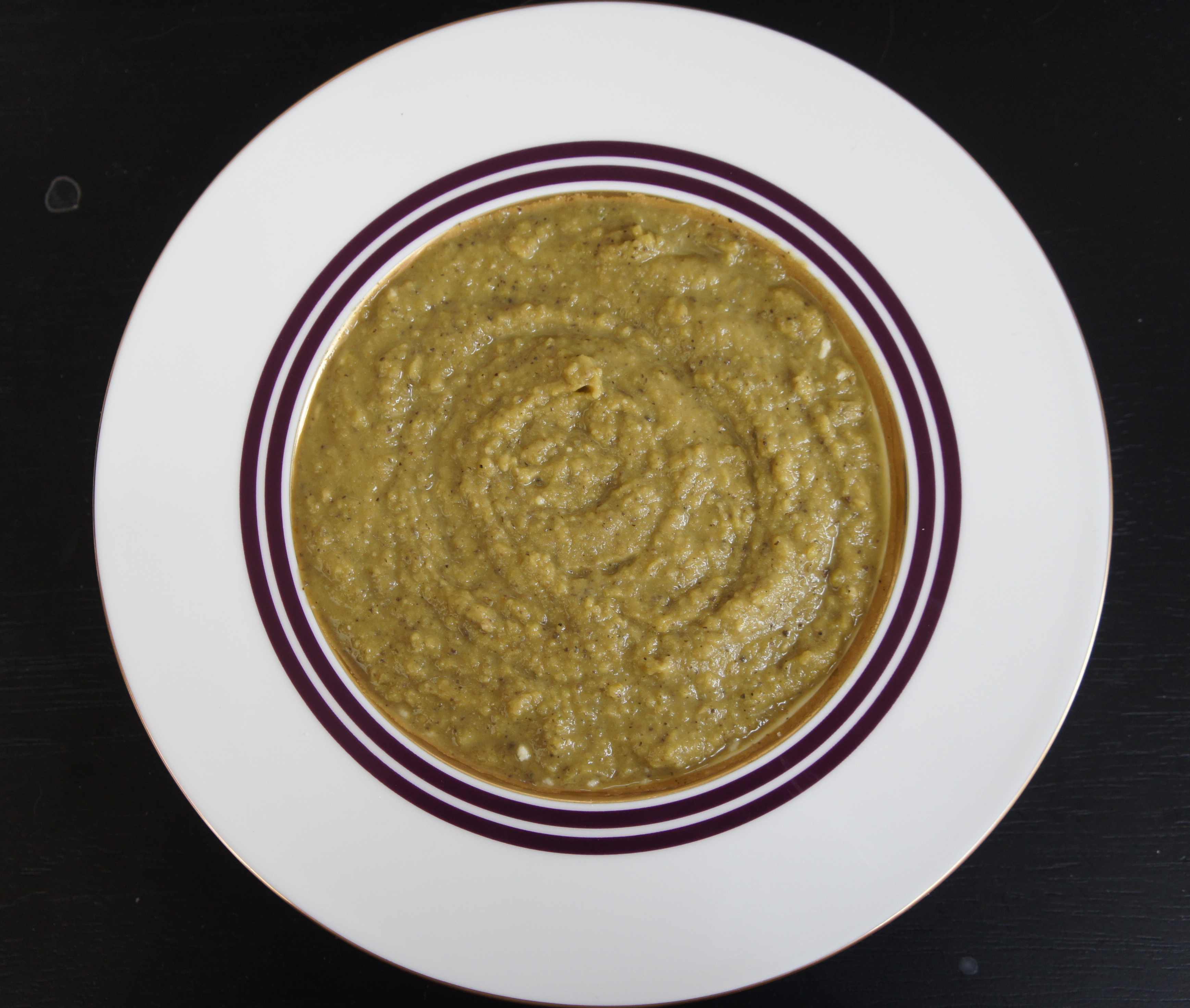 Split Pea and Mushroom Soup - Vegetarian Style