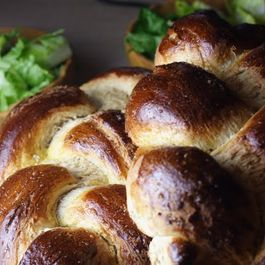 Honey Wheat Challah