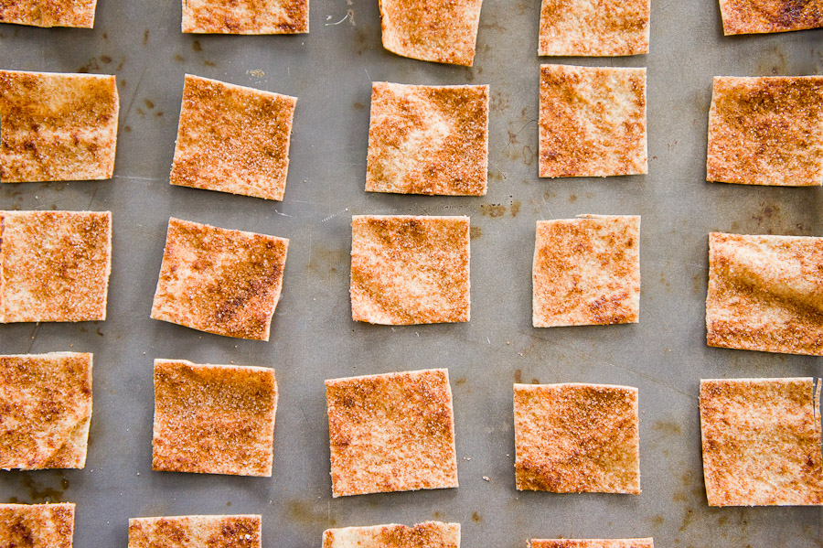 Cinnamon-Sugar Pita Chips