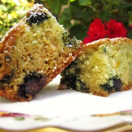 Zesty Blueberry Lavender Cake