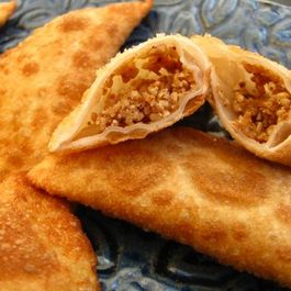 sweet & spicy sesame dumplings