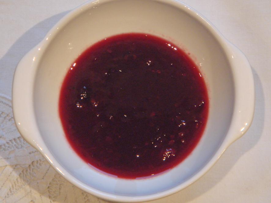 Pinot Noir Cranberry Sauce recipe on Food52.com