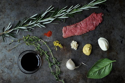 Herbed Beef Skewers with Horseradish Cream recipe on Food52.com