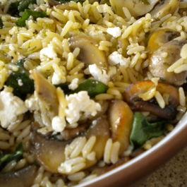 Baked Mushroom Rice Pilaf - 3 Ways