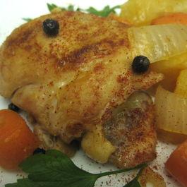 Finding Home Again,  Bubbe's Allspice Chicken
