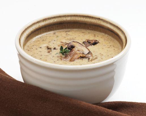 Roasted Mushroom Soup