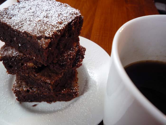 Chocolate & Coffee Brownies