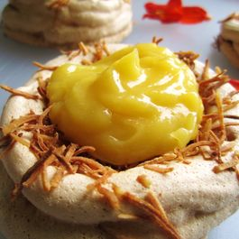 Lemon Meringue Bird's Nest