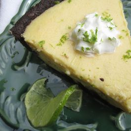 Chocolate Mojito Key Lime Pie