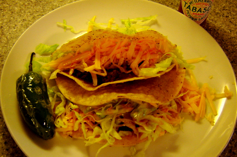 Crunchy Ground Beef Tacos