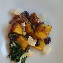 Warm Potato Salad with Spring Ramps