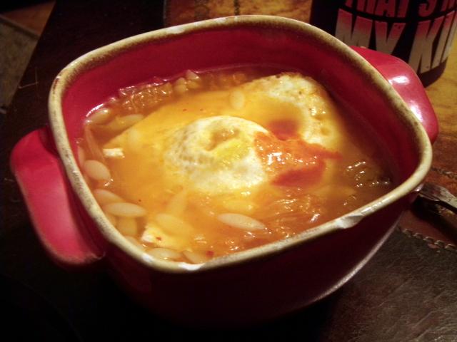 Kitchen Sink Kimchee Soup