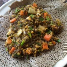 Double Lentil Salad