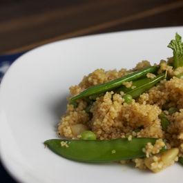 Spring Pea Couscous Salad