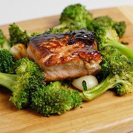 Salmon-kabayaki