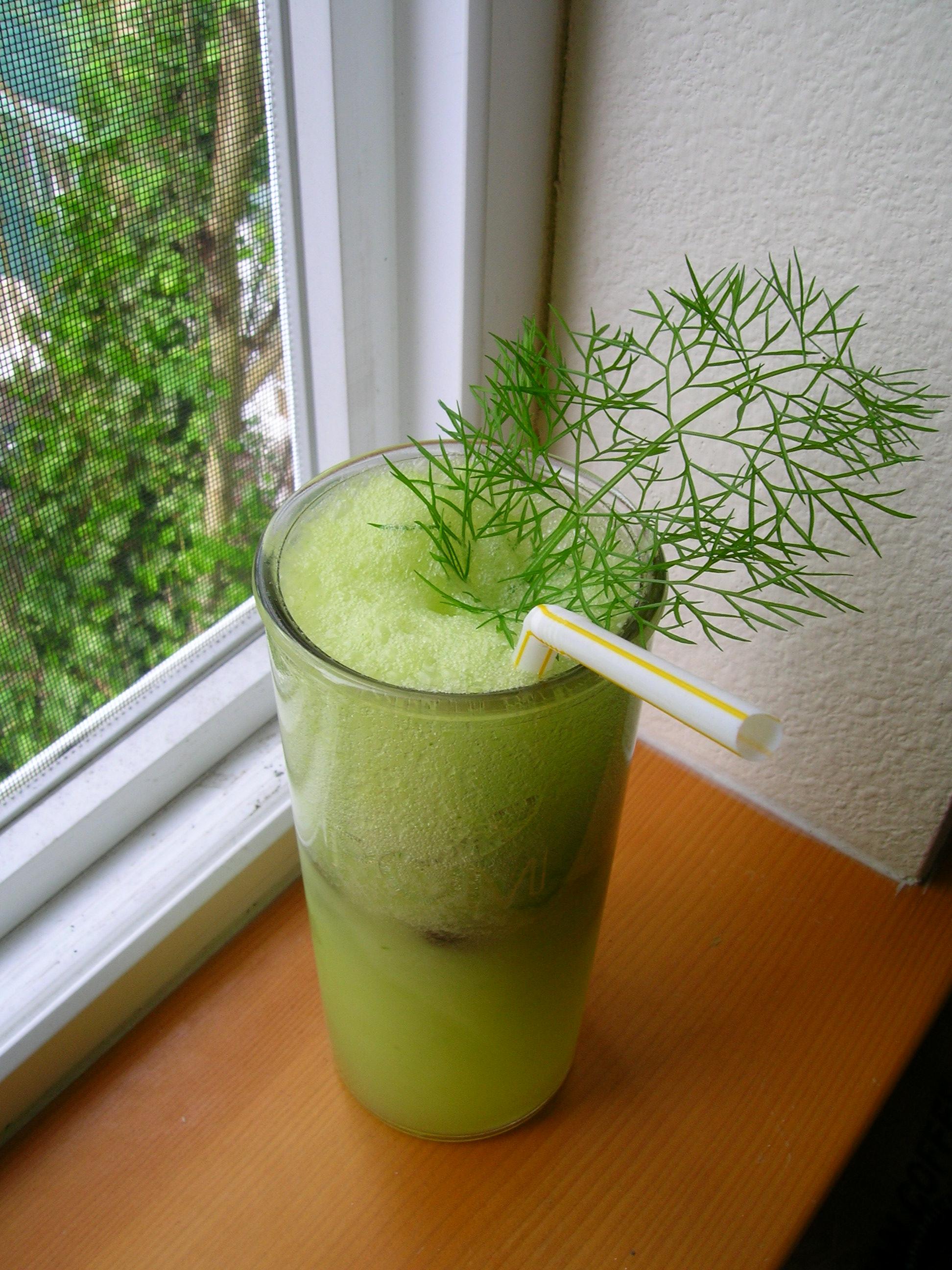 Cucumber-Fennel Fizz