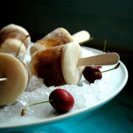 Root Beer Float Ice Pops