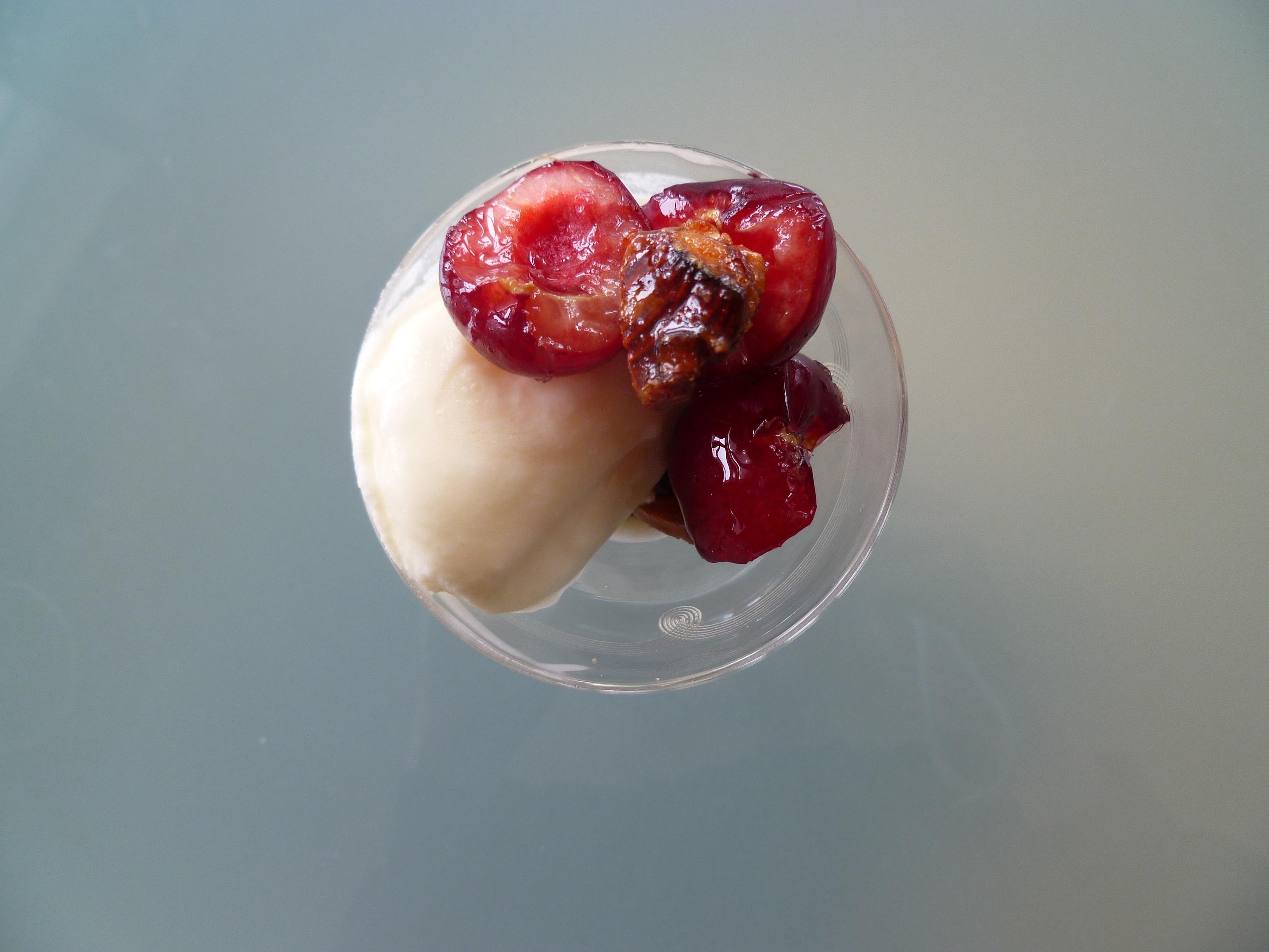 Sundae of Stone Fruit