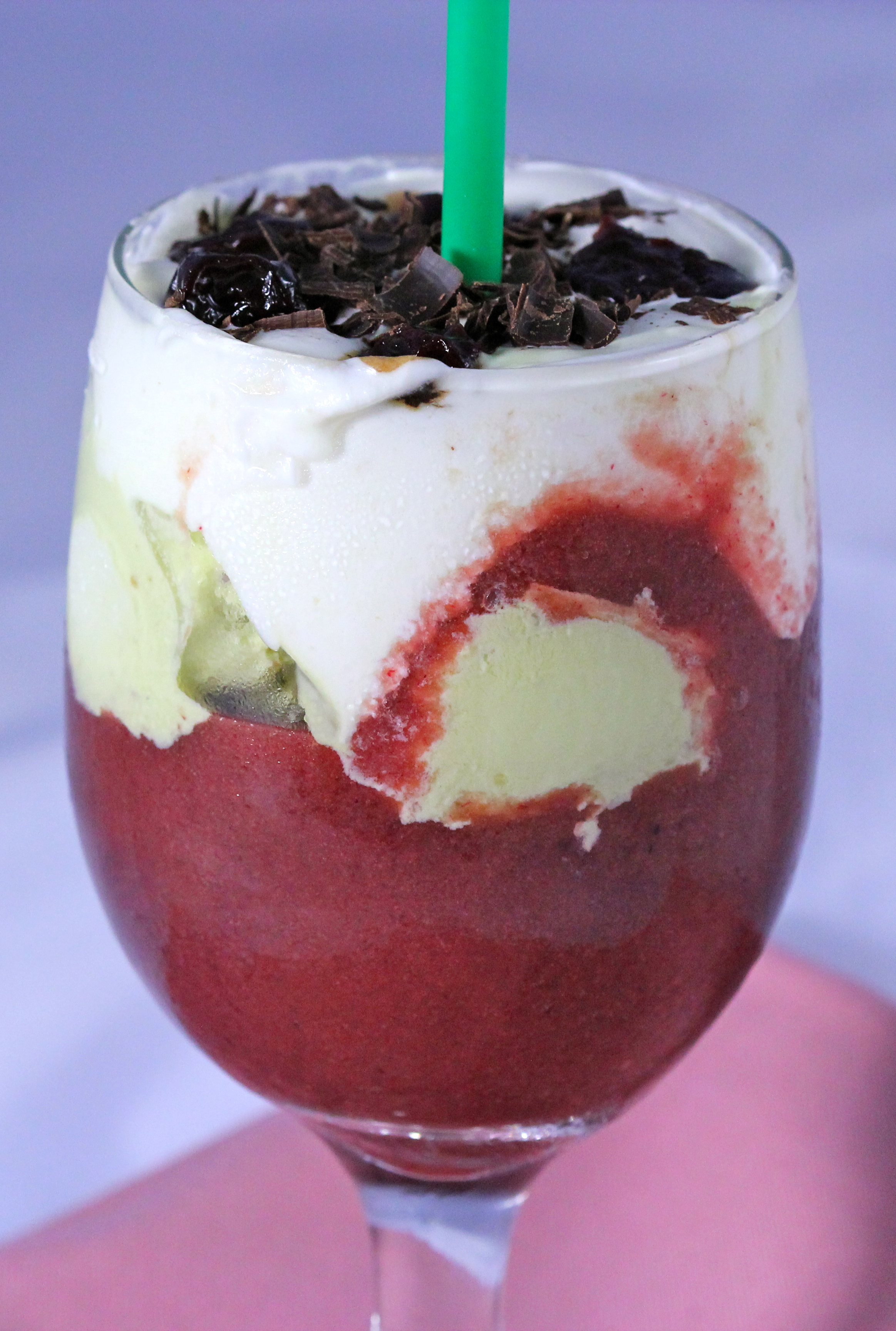 Hungarian Sisters' Spicy Berry Float