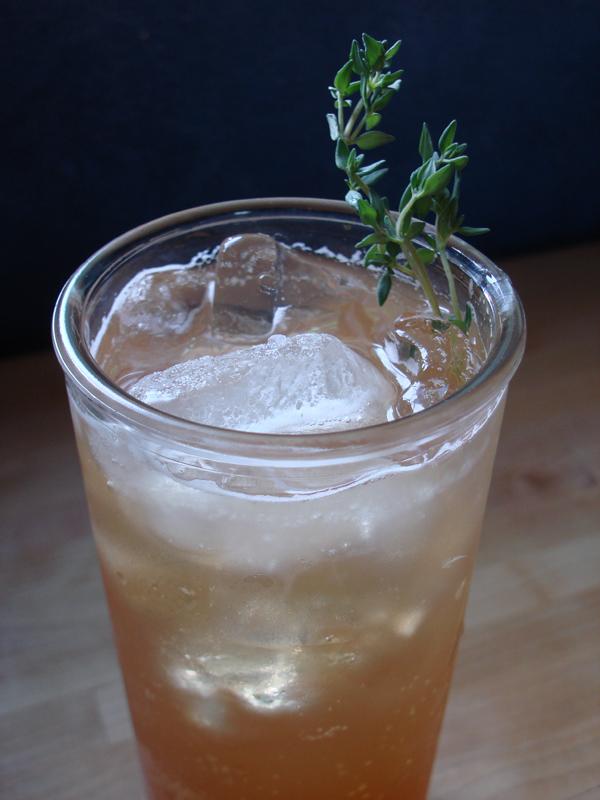 Tea Thyme Soda
