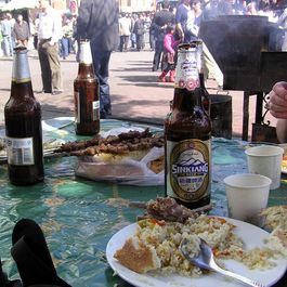 Pulao_and_beer