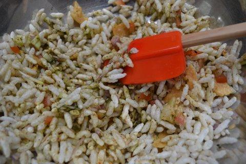Snap Crackle Pop!! Bombay Bhel puri