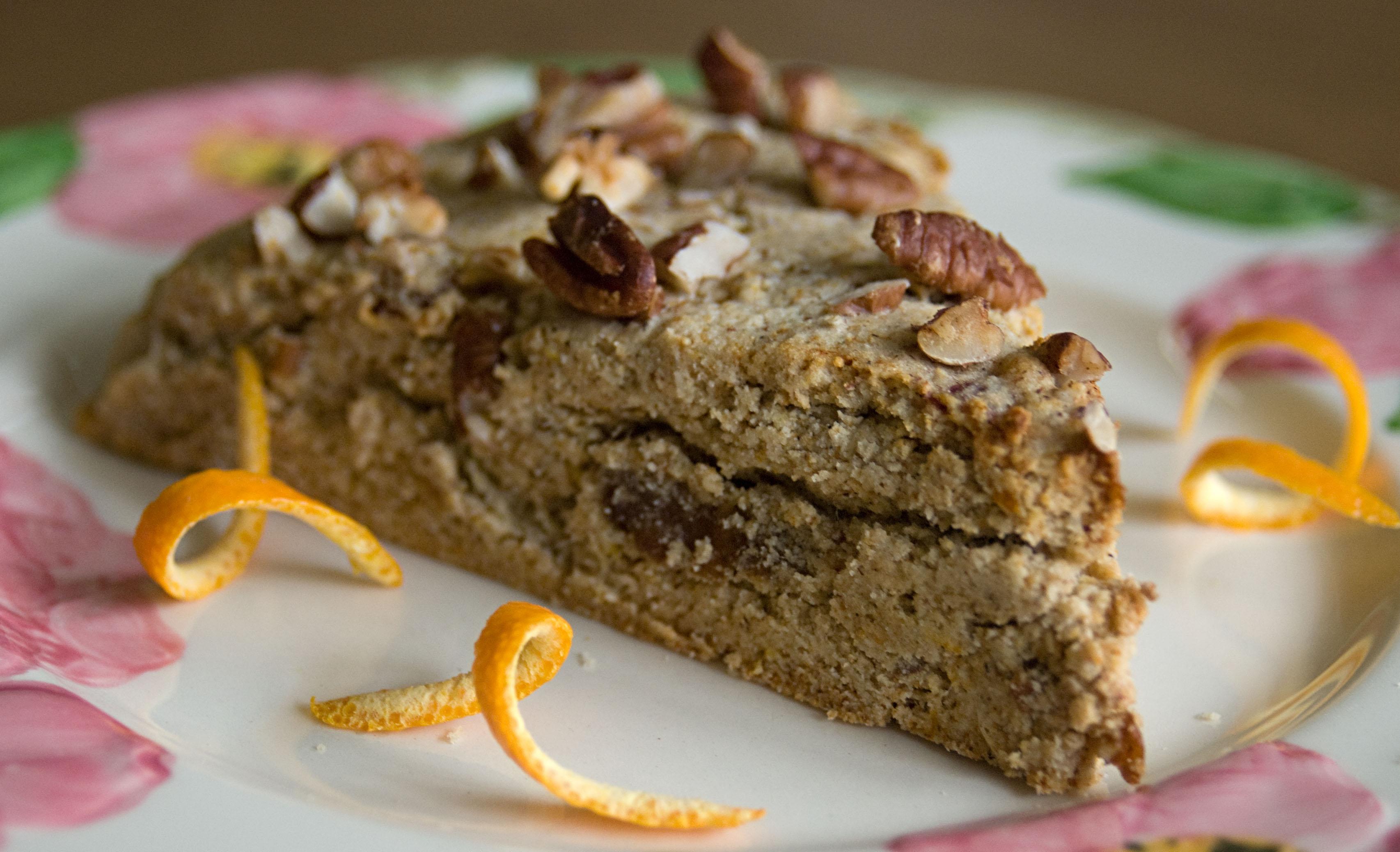 Orange, Pecan & Date Gluten-Free Scones