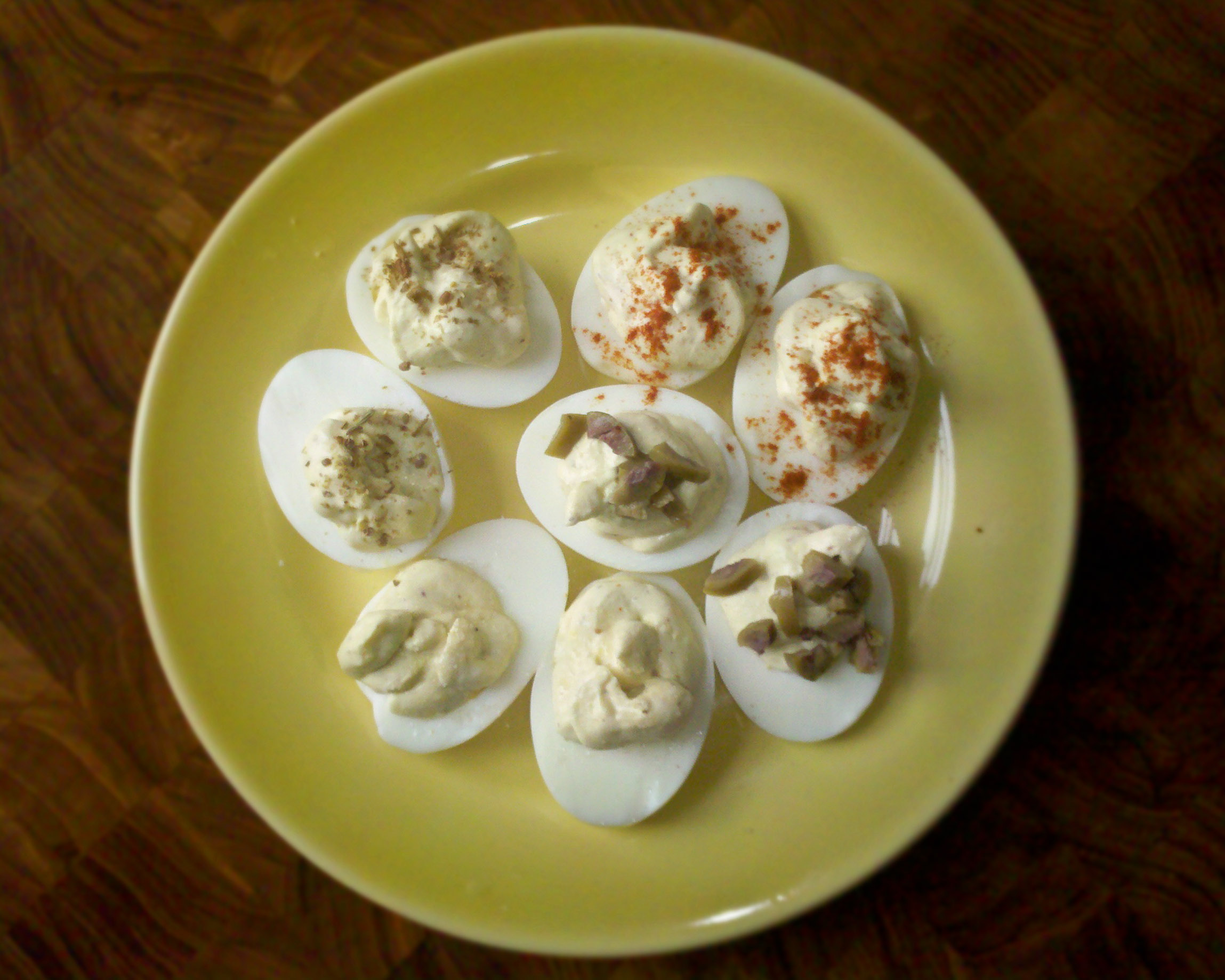 Deviled Eggs; Purgatory Edition