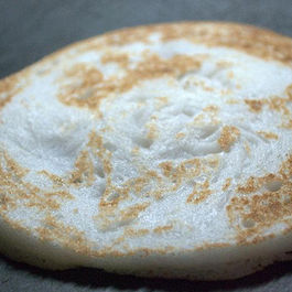 Kallappams  A South Indian  PANCAKE (A Kerala Christian specialty  )