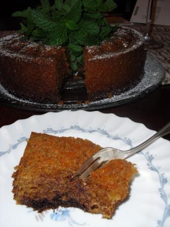 Best Ever GF Carrot Cake