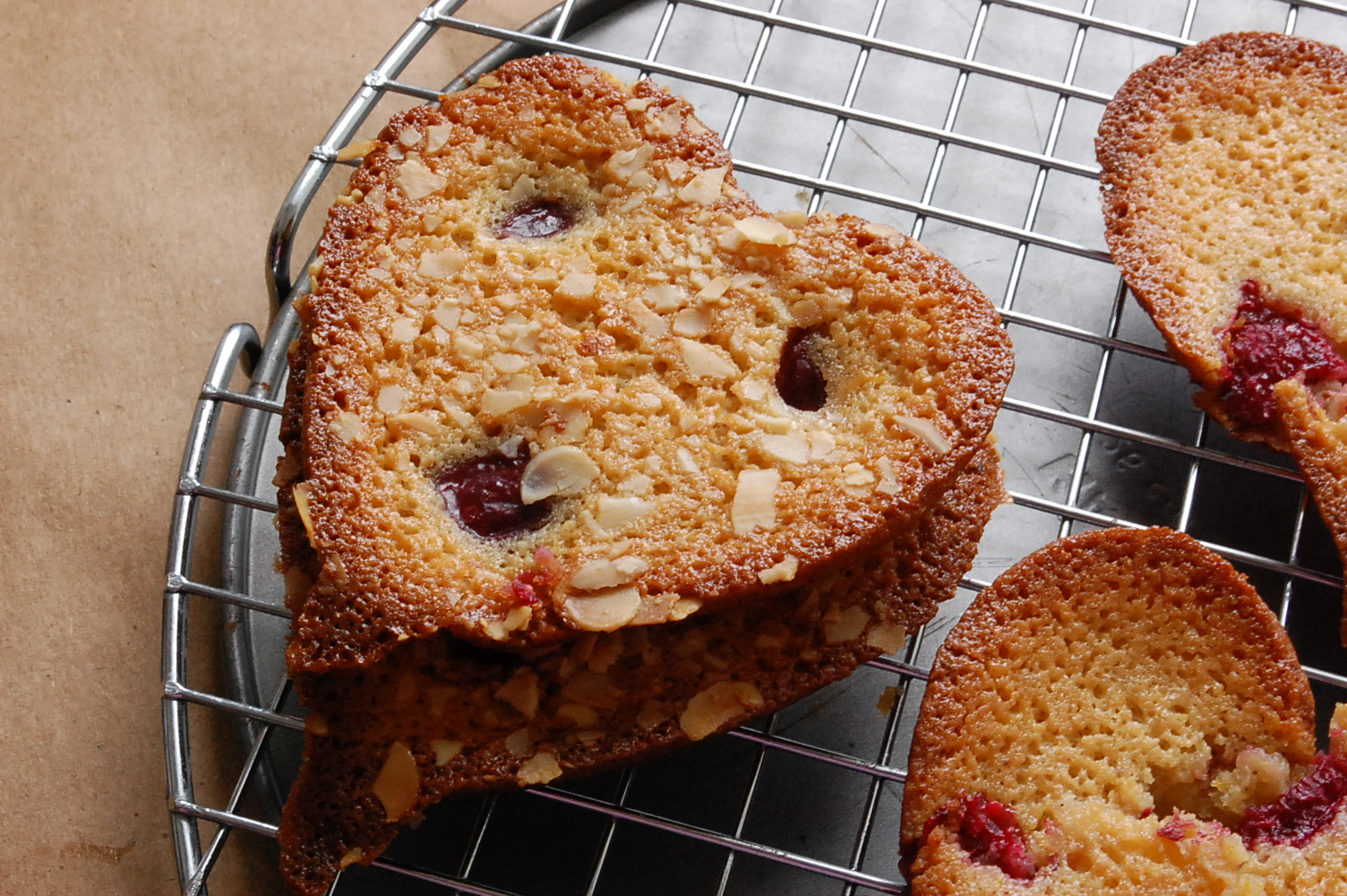 Raspberry Friands/Financiers