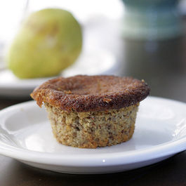 Pear Almond Muffins