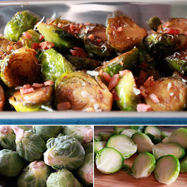 Brussel Sprouts with a Balsamic Reduction