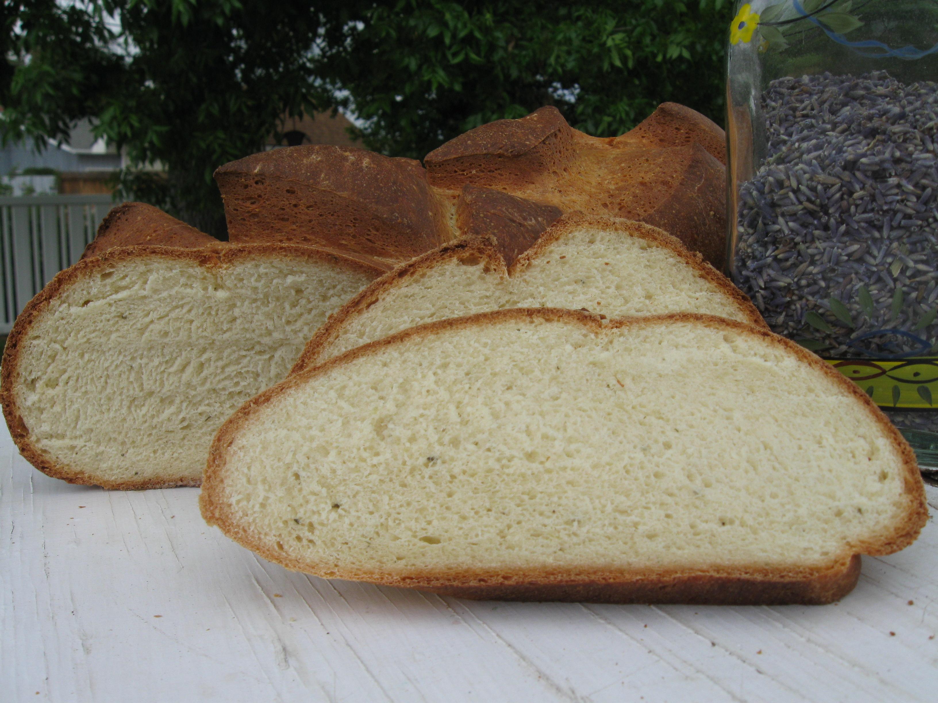Lavender-Thyme Bread