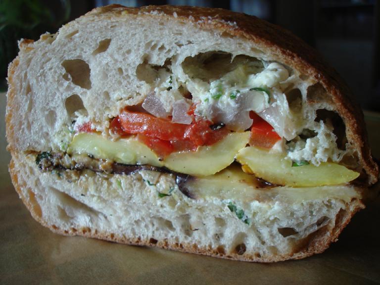 Grilled Garden Sandwich
