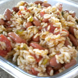 Monday's Red Beans and Rice Salad