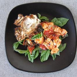 Roasted Tomato-Basil Caprese