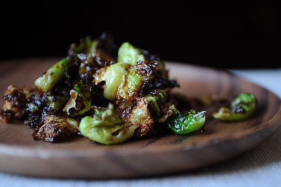 Fried brussels sprouts from food52