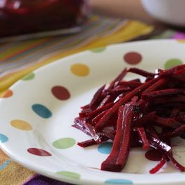 Beet Slaw with Tarragon