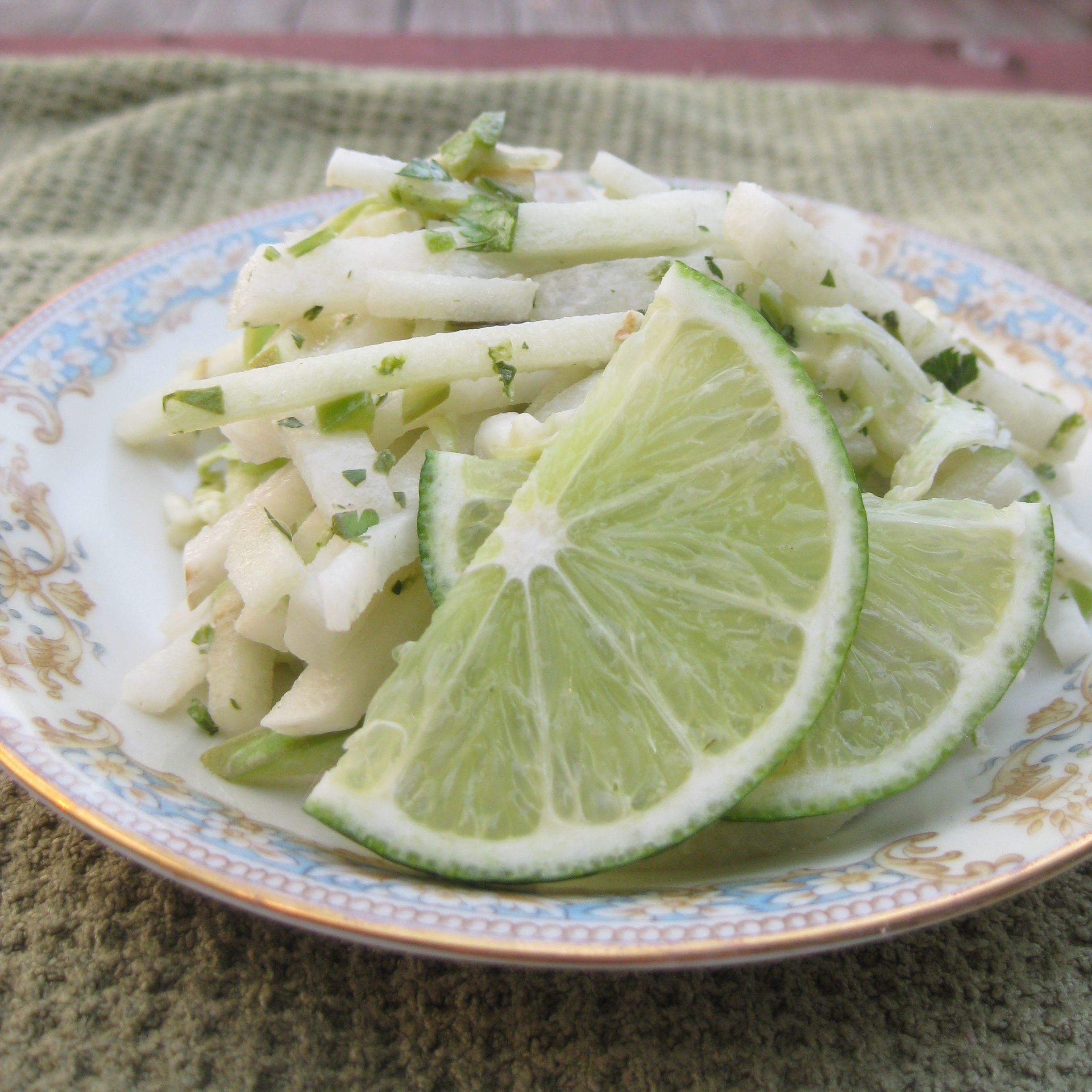 Jicama Apple Slaw