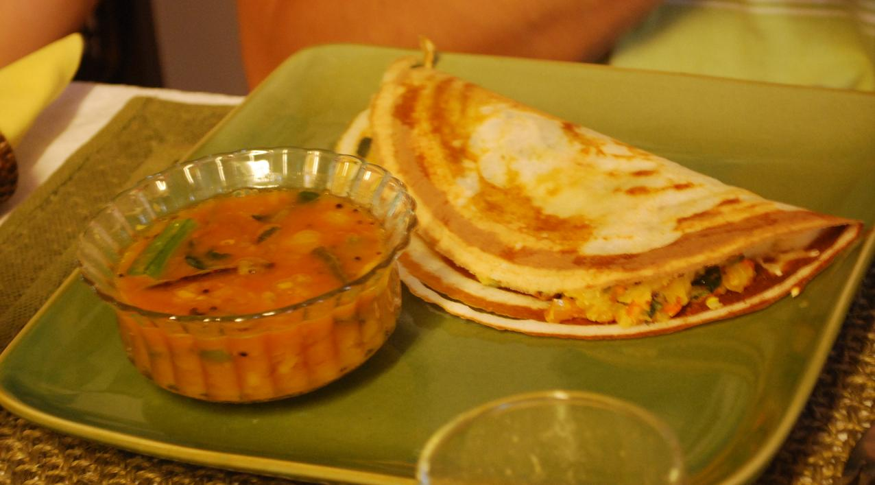 Masala Dosa ( Sourdough Crepes)